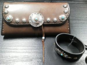 財布&レザーブレス