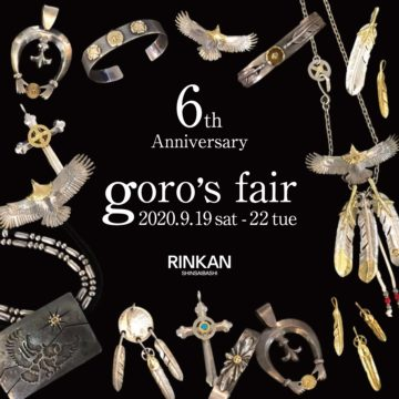 0918【goros fair】心斎橋